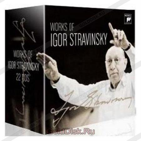 Igor stravinsky works of igor stravinsky 22 cd box set audio cd igor stravinsky works of igor stravinsky m4hsunfo