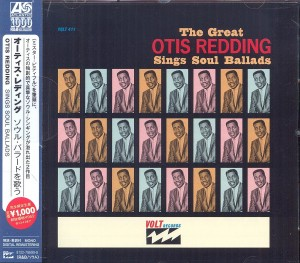 Audio CD Otis Redding. Sings Soul Ballads
