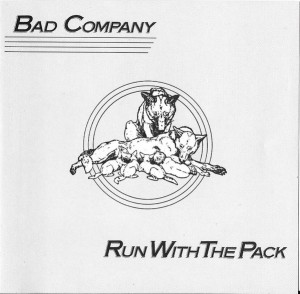 Audio CD Bad Company. Run With The Pack