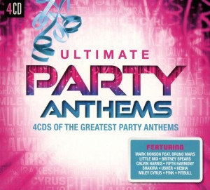 Audio CD Various Artists. Ultimate... Party Anthems