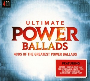 Audio CD Various Artists. Ultimate... Power Ballads