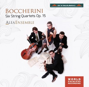Audio CD Alea Ensemble. Boccherini: 6 String Quartets