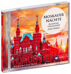 Audio CD Red Star Red Army Chorus. Moscow Nights – Russian Folk Songs / Moskauer Nächte - Russische Volkslieder