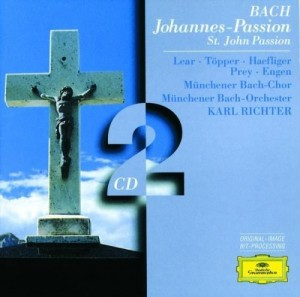 Audio CD Karl Richter. Bach. Johannes-Passion