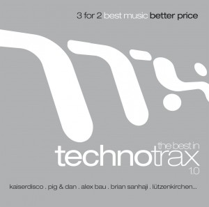 Audio CD Various Artists. The Best In Techno Trax
