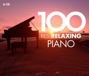 Audio CD Various Artists. 100 Best Relaxing Piano