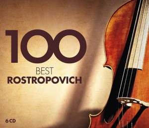 Audio CD Various Artists. 100 Best Rostropovich