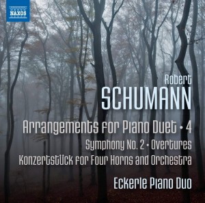 Audio CD Eckerle Piano Duo. Robert Schumann: Arrangements for Piano Duet Vol. 4