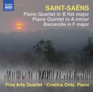 Audio CD Fine Arts Quartet. Saint-Saens: Piano Quartet in B flat major, Piano Quintet in A minor, Barcarolle in F major