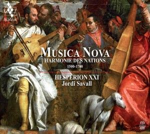 SACD (Super Audio CD) Jordi Savall / Hesperion XXI. Musica Nova - Harmonie des Nations (1500-1700)