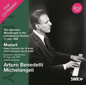 Audio CD Arturo Benedetti Michelangeli. Mozart