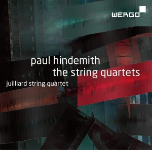 Audio CD Juilliard String Quartet. Paul Hindemith: The String Quartets
