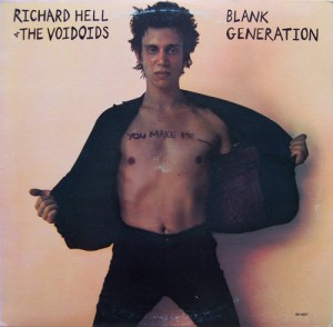 LP Richard Hell / The Voidoids. Blank Generation (LP)