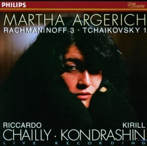 Audio CD Martha Argerich, Rachmaninov. Piano Concerto No.3, Tchaikovsky. Piano Concerto No.1