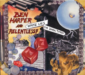 DVD + Audio CD Ben Harper & The Rel. White Lies For Dark