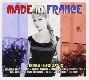 Audio CD Various Artists. Made In France