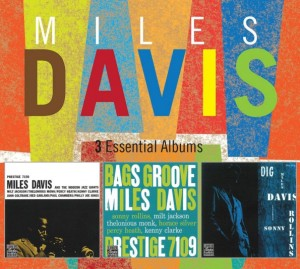 Audio CD Miles Davis. 3 Essential Albums
