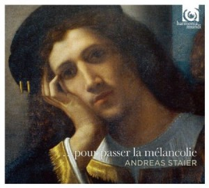 Audio CD Andreas Staier: Pour Passer La Melancholie / Works By Froberger, Fischer, Clerambault Et Al, Andreas Staier, Harpsichord