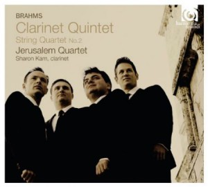 Audio CD Brahms: Clarinet Quintet / Jerusalem Quartet