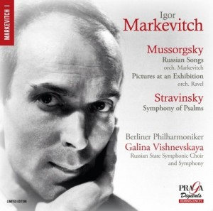 SACD (Super Audio CD) Igor Markevitch / Vishnevskaia Galina. Mussorgsky: Russian Songs, Pictures at an Exhibition; Stravinsky: Symphony of Psalms