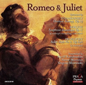 SACD (Super Audio CD) E. Mravinsky / P. Monteux / K. Kondrachine. Romeo & Juliet
