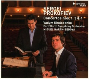 Audio CD Prokofiev. Piano Concertos No 1 3 & 4