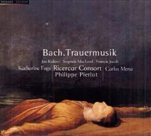 Audio CD Johann Sebastian Bach: A Funerary Monument For The Queen Of Poland / Ricercar Consort