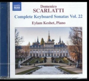 Audio CD Scarlatti: Keyboard Sonatas Vol. 22