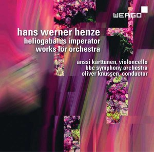 Audio CD Hans Werner Henze. Eliogabalus Imperator