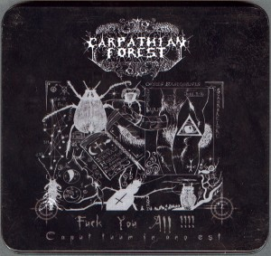 Audio CD Carpathian Forest. Fuck You All !!!!
