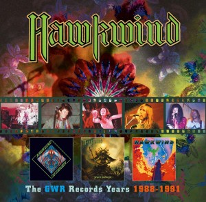 Audio CD Hawkwind. The GWR Records Years 1988-1991