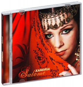 Audio CD Xandria. Salomé: The Seventh Veil