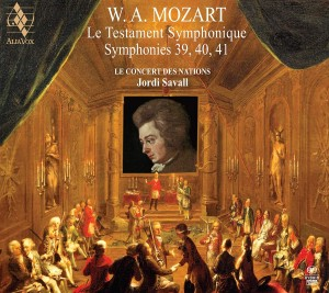 SACD (Super Audio CD) Le Concert des Nations / Jordi Savall. Mozart: Symphonies No.39, 40 & 41
