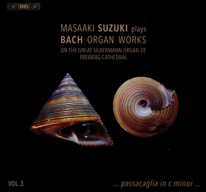 SACD (Super Audio CD) Masaaki Suzuki. Bach: Organ Works, Vol. 3
