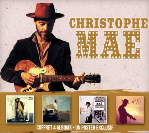 Audio CD Christophe Mae. Coffret 4 Albums (Limited Edition Box Set)