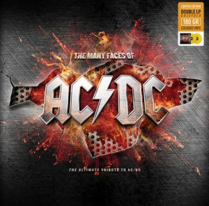 LP Various. The Many Faces Of AC/DC (LP)