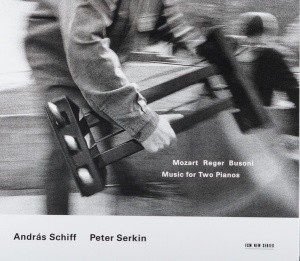 Audio CD András Schiff, Peter Serkin. Mozart / Reger / Busoni: Music for Two Pianos
