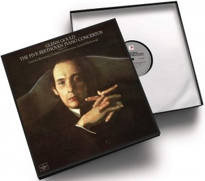 LP Glenn Gould. Beethoven: the 5 piano concertos (LP)