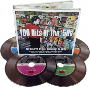 Audio CD Various artists. 100 Hits of the '50s