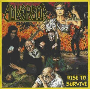 Audio CD Adversor. Rise To Survive