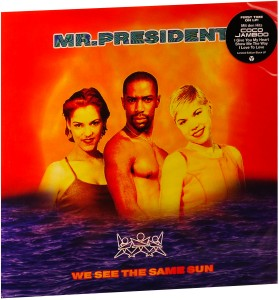 LP Mr. President. We See The Same Sun (LP)