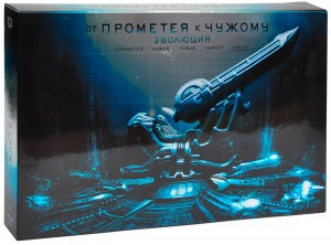 Blu-Ray Прометей / Чужой: Антология (9 Blu-Ray) / Prometheus to Alien: The Evolution: Prometheus / Alien / Aliens / Alien 3 / Alien Resurrection