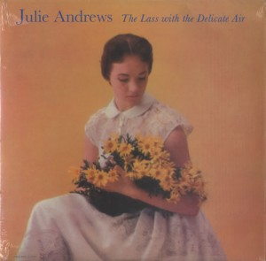 LP Julie Andrews: The Lass With the Delicate Air (LP)