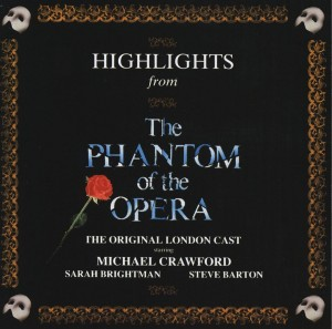 Audio CD Highlights From The Phantom Of The Opera