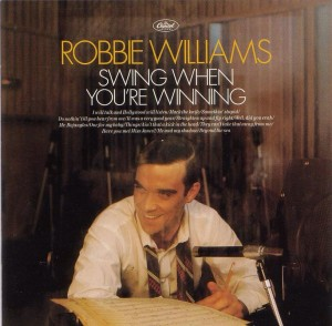 Audio CD Robbie Williams. Swing When You're Winning