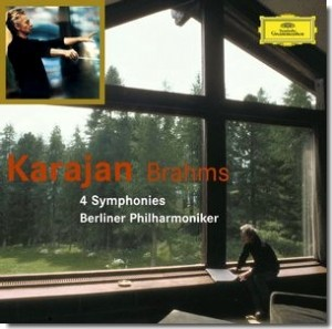 Audio CD Herbert von Karajan, Berliner Philharmoniker. Brahms: The 4 symphonies