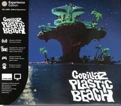 DVD + Audio CD Gorillaz. Plastic Beach