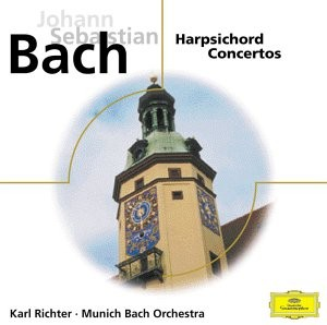 Audio CD Karl Richter, Bach: Harpsichord сoncertos (фирм.)
