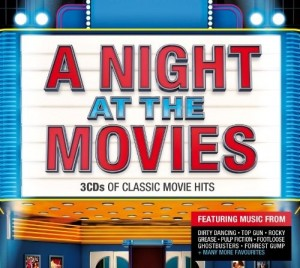 Audio CD Various. A Night At The Movies (2014)