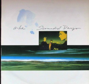LP A-Ha. Scoundrel Days (LP)